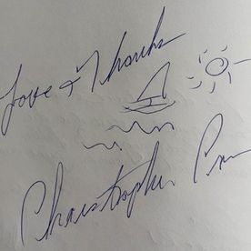 Christopher Cross Autogramm